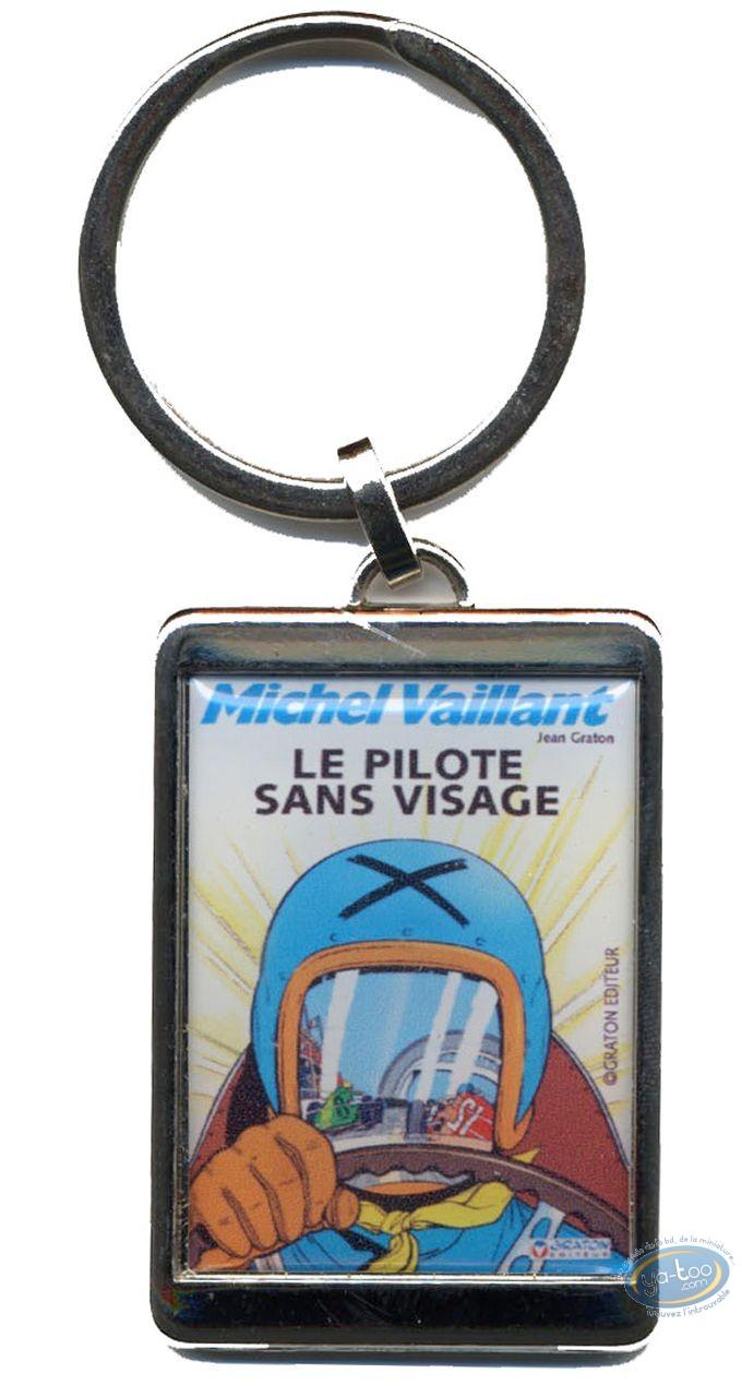 Porte-clé, Michel Vaillant : Porte-clé métal, Le pilote sans visage