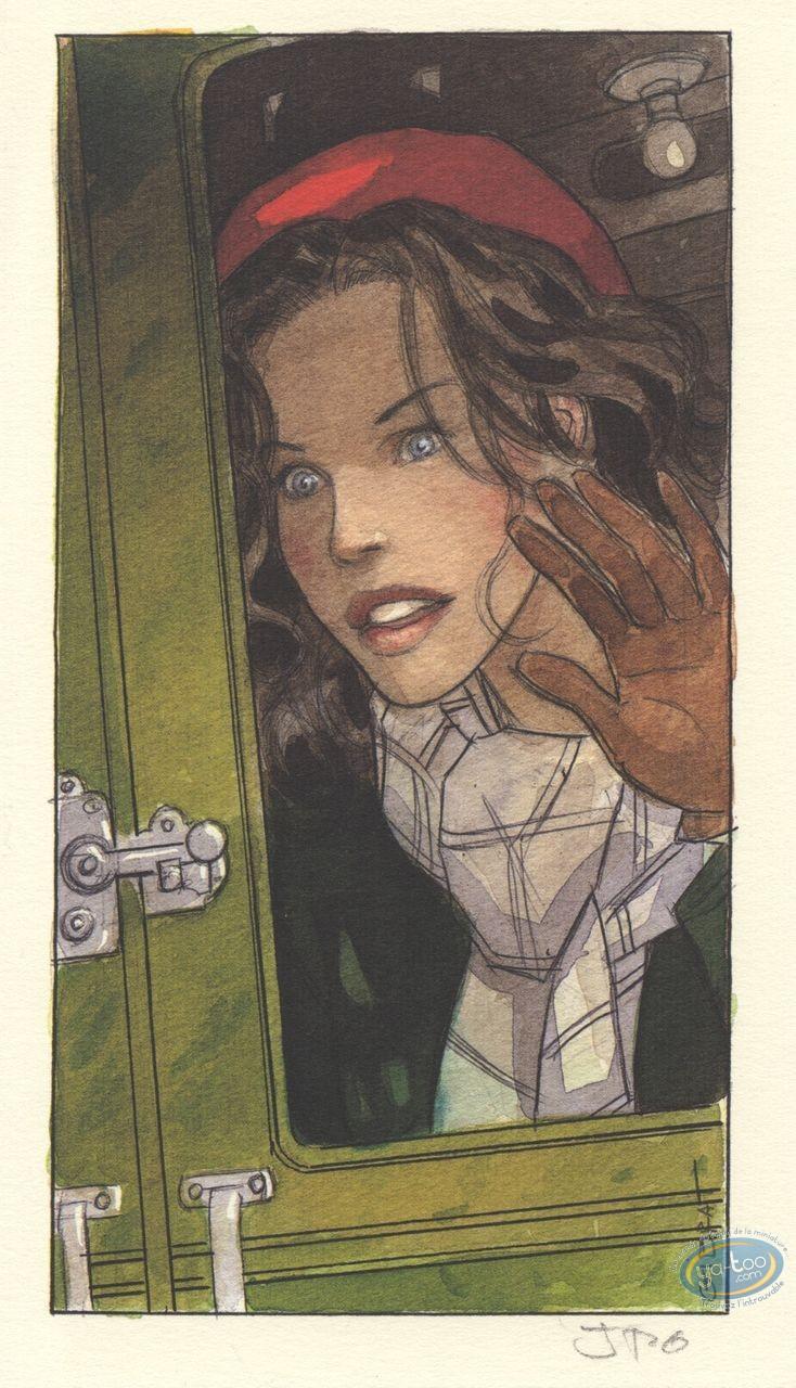 Ex-libris Offset, Vol du Corbeau (Le) : Jeanne
