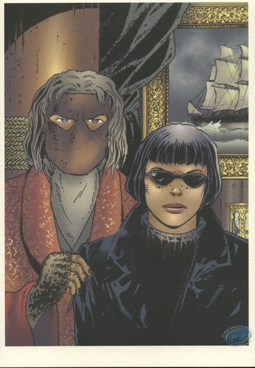 Ex-libris Offset, Ombres : Homme au masque