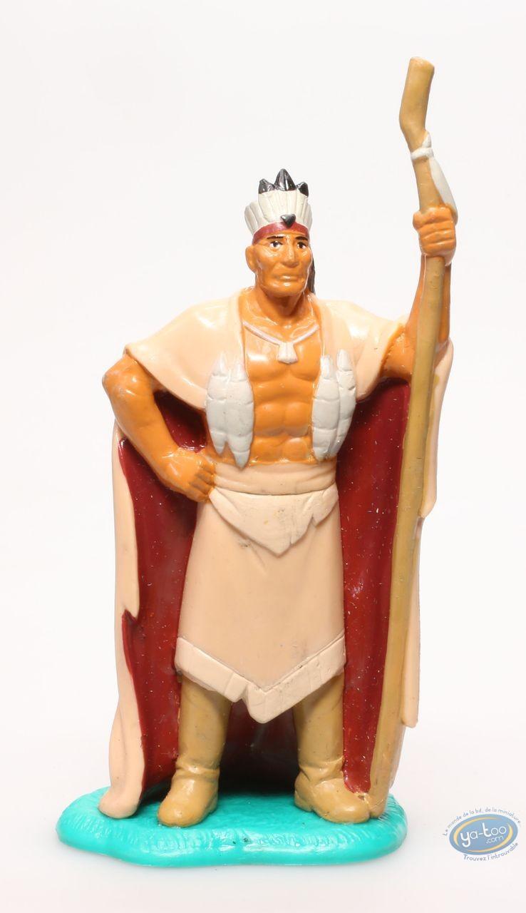 Figurine plastique, Pocahontas : Powhatan, Disney