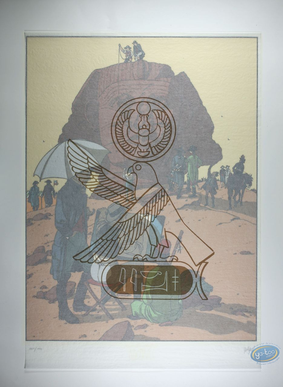 Affiche Sérigraphie, Arno : La Campagne d'Egypte