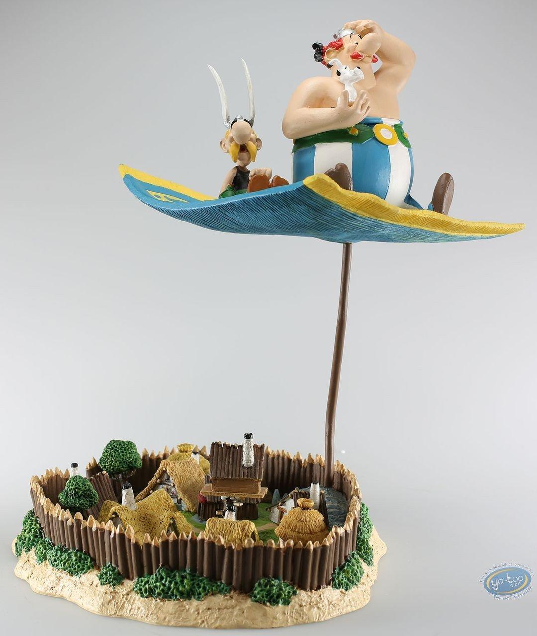 Statuette résine, Astérix : Tapis volant