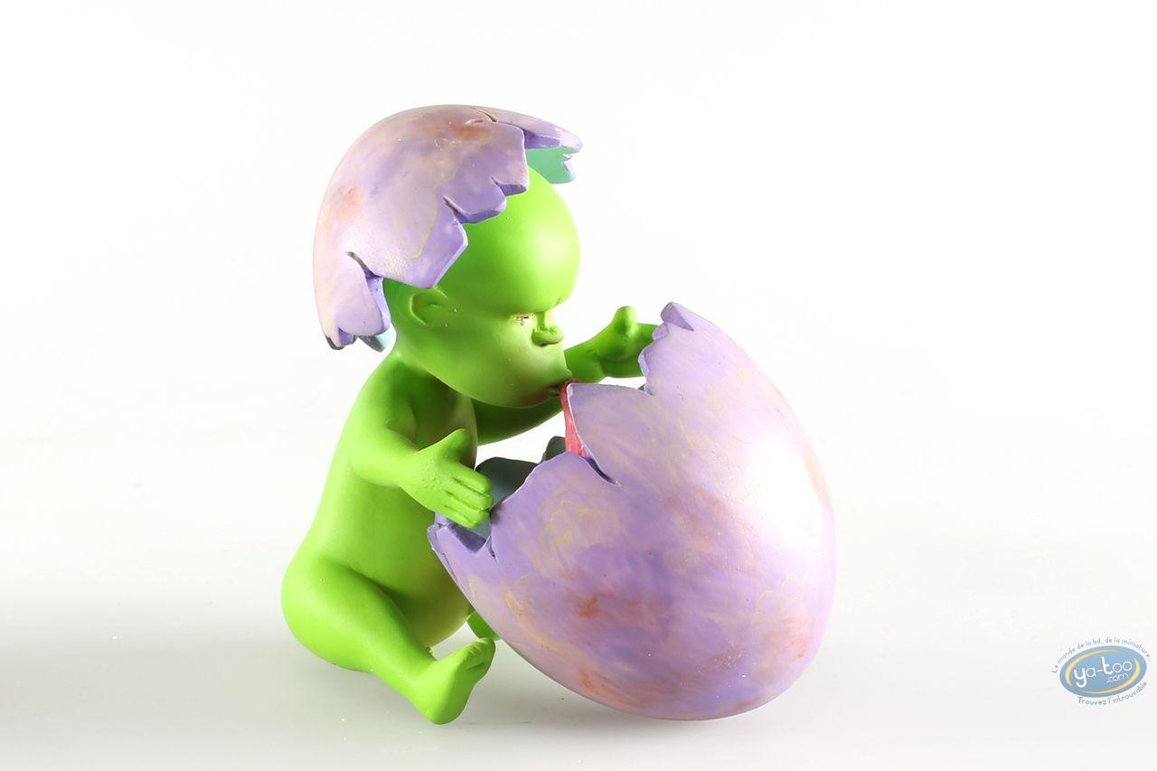 Statuette résine, Adiboo : Adiboo vert