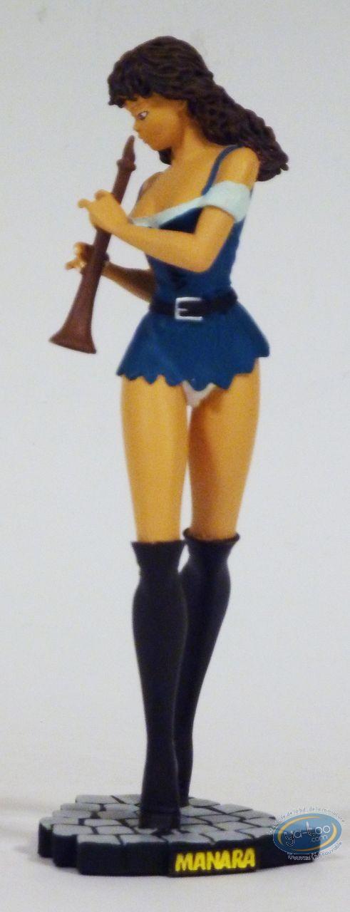 Statuette résine, Filles de Manara (Les) : Aurélia, Manara