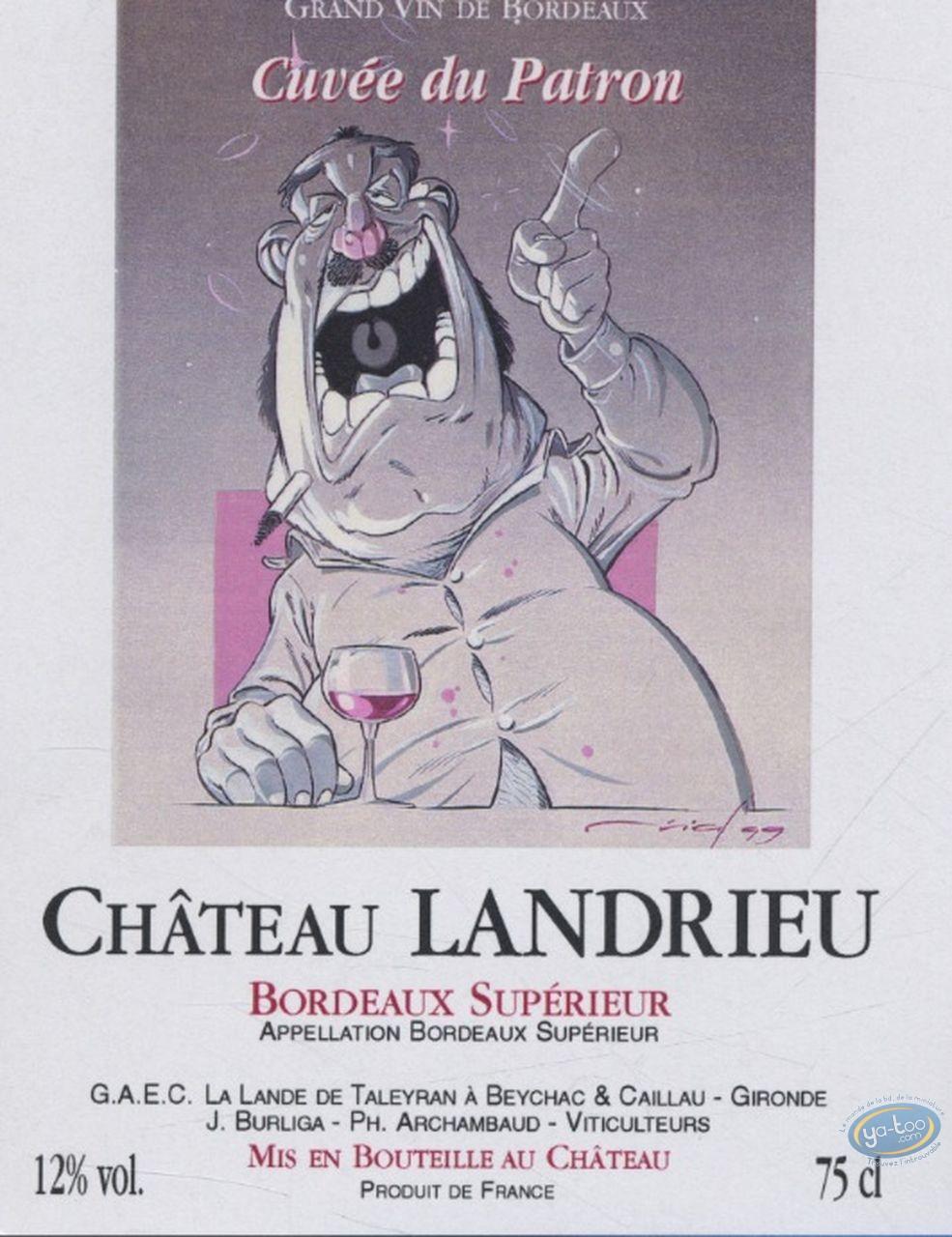 Etiquette de Vin, Le Gros - Chateau Landrieu