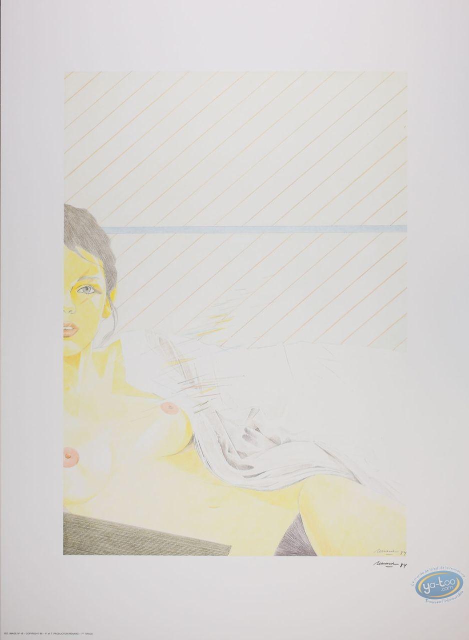 Affiche Offset, Femme