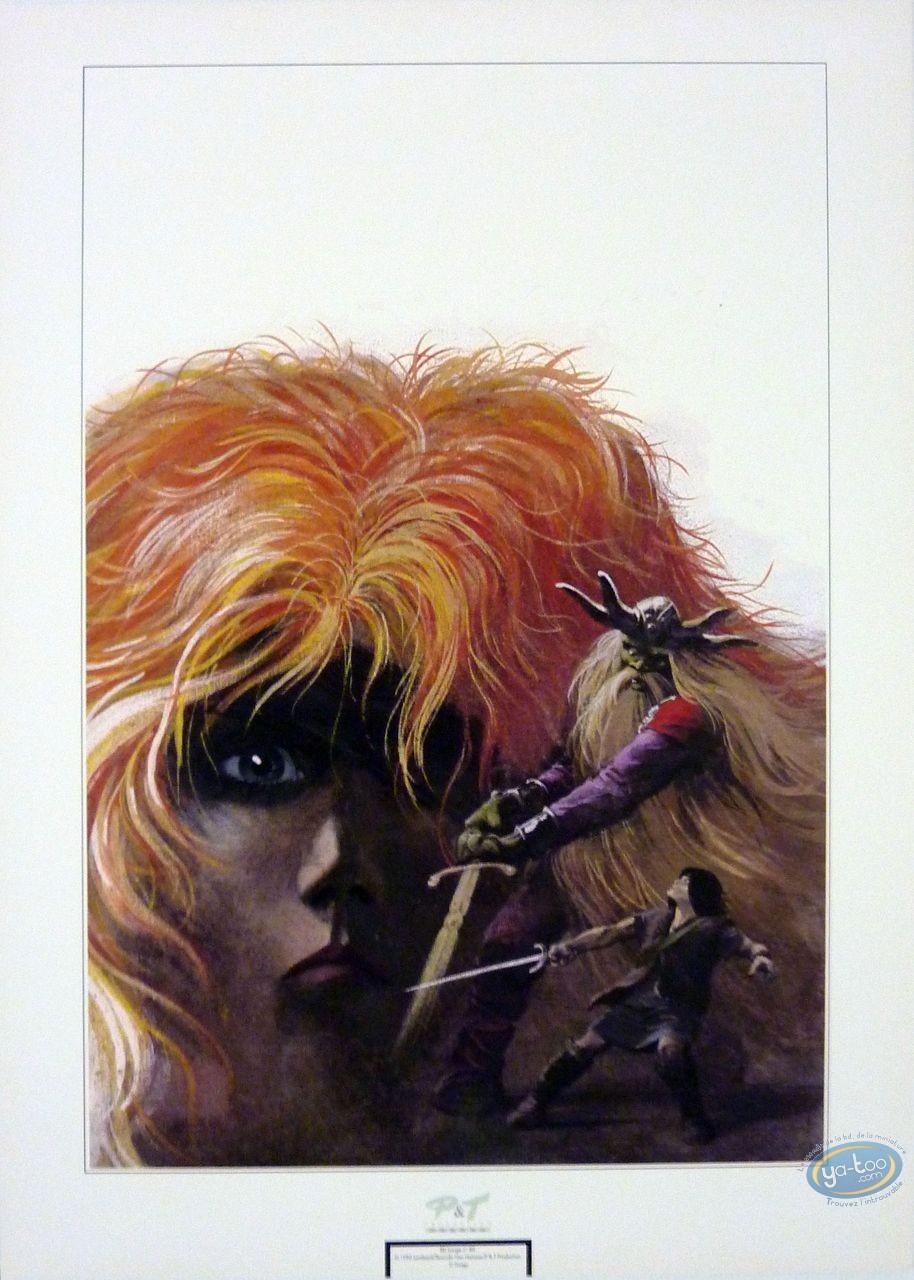 Affiche Offset, Thorgal : La magicienne trahie