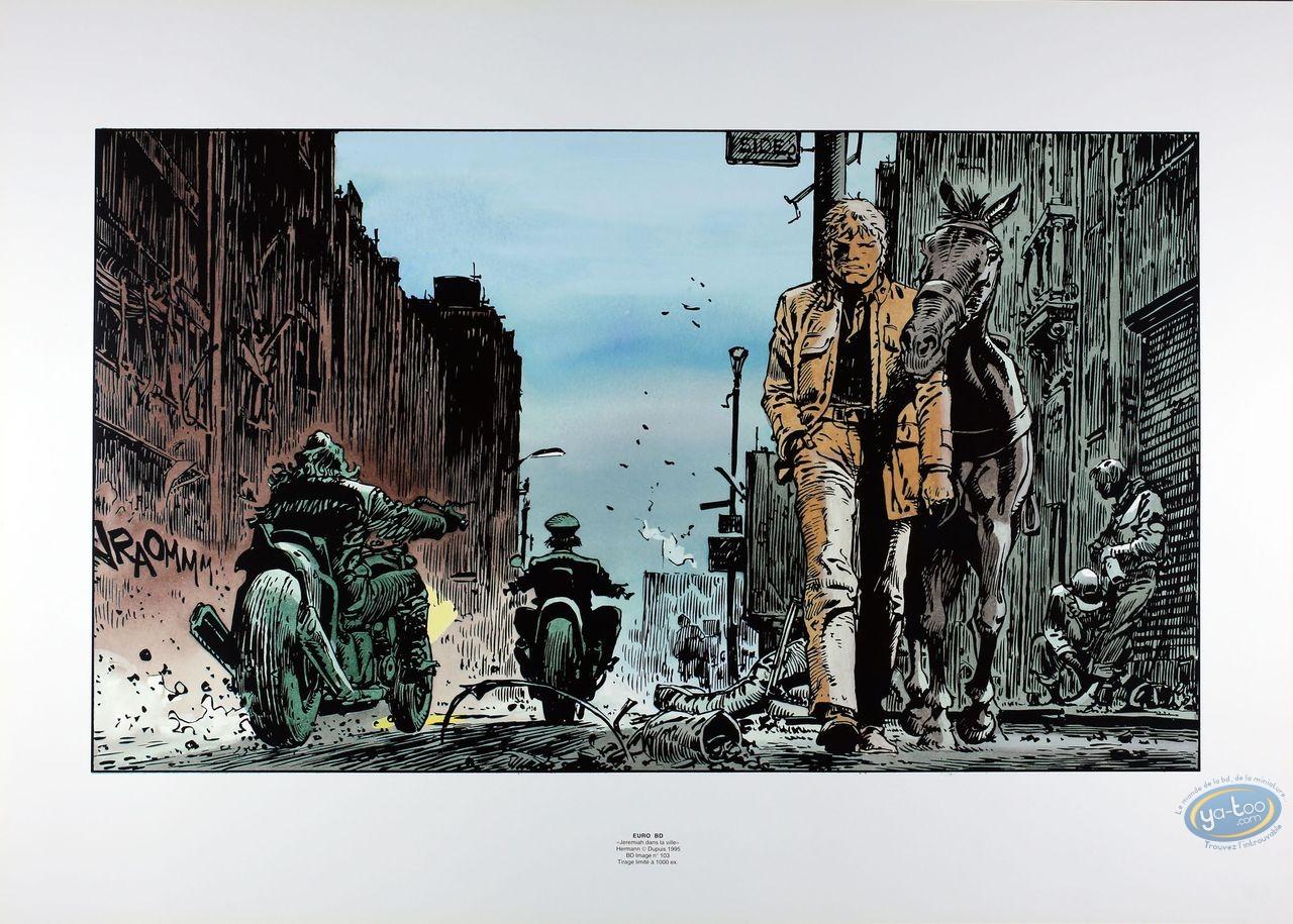 Affiche Offset, Jérémiah : Jérémiah dans la ville