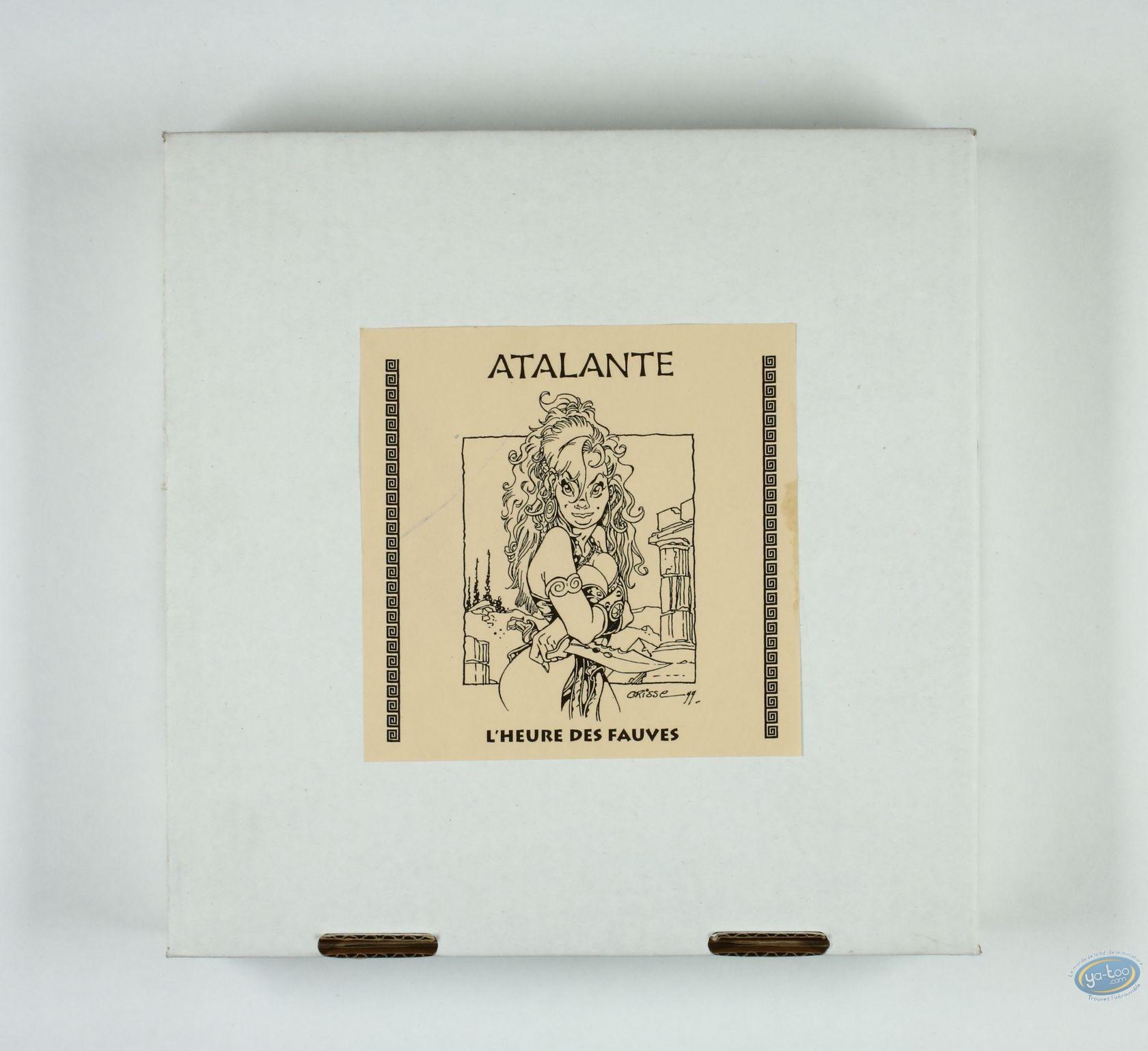 Horlogerie, Atalante : Horloge, Atalante, L'heure des fauves