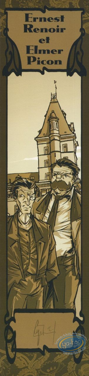 Ex-libris Offset, Ombre de l'Echafaud (L') : Ernest Renoir & Elmer Picon