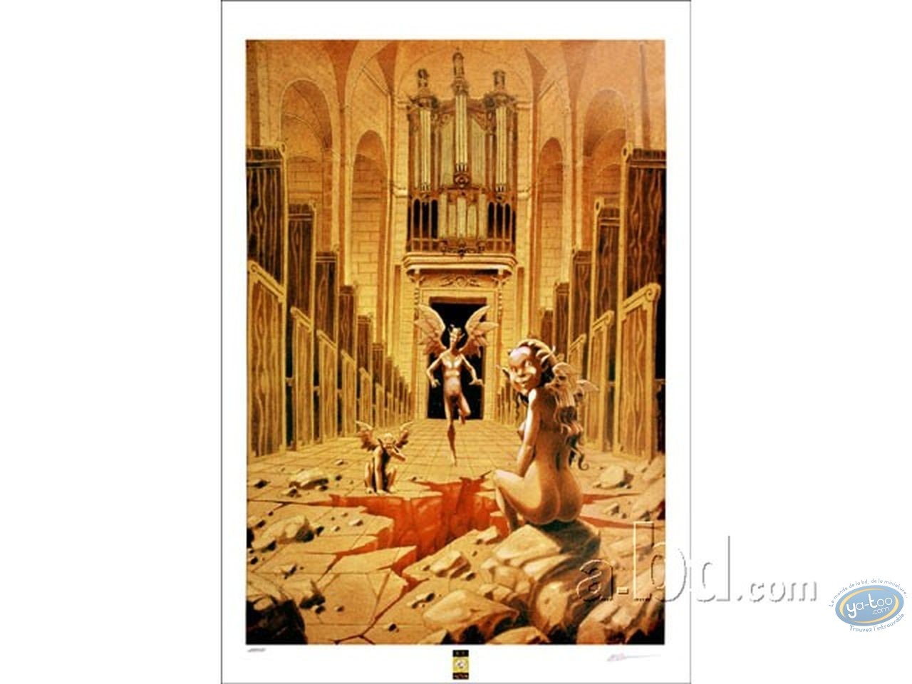 Affiche Offset, Anges : Anges