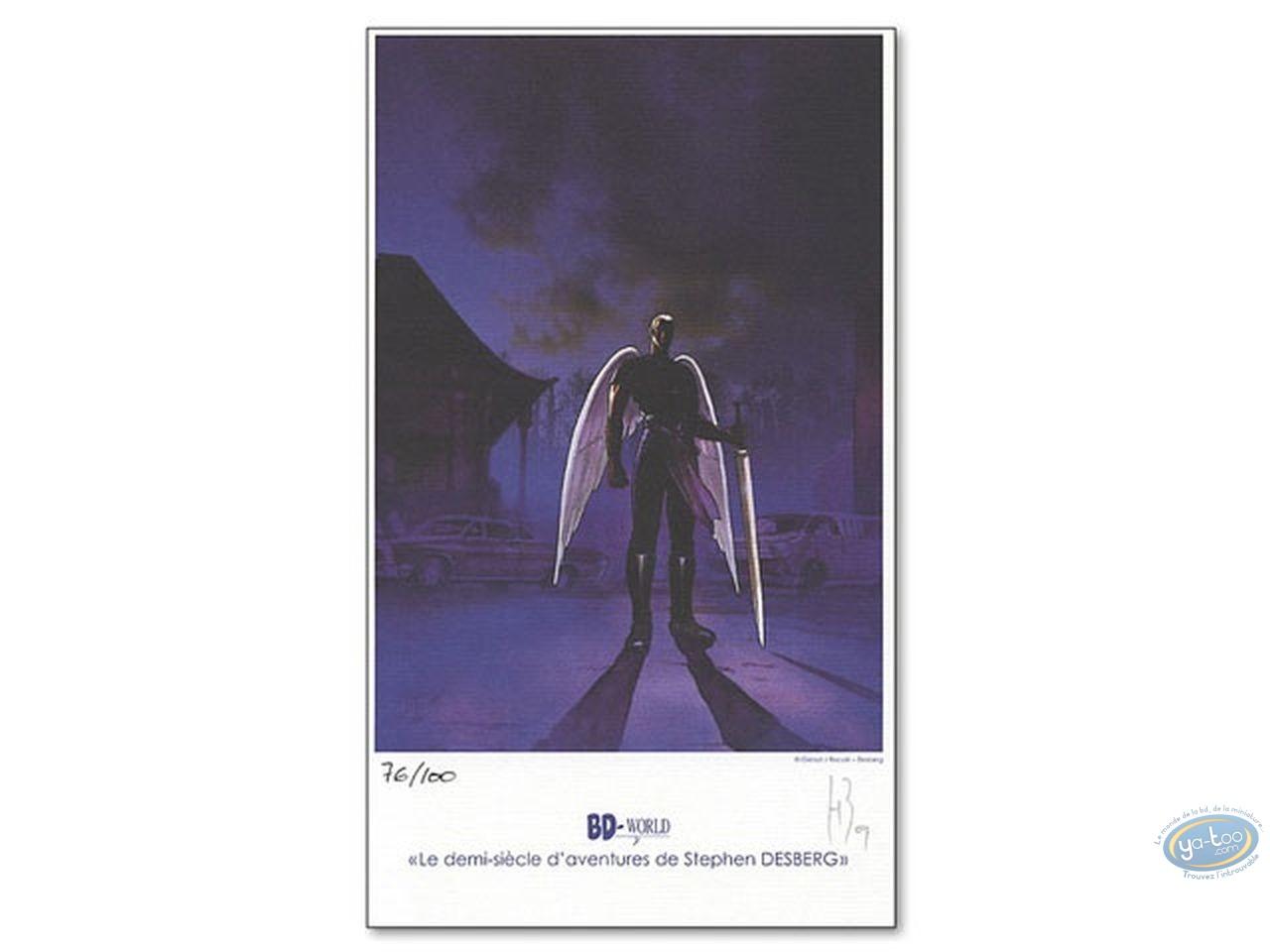 Ex-libris Offset, Immortels (Les) : Ange à l'épée
