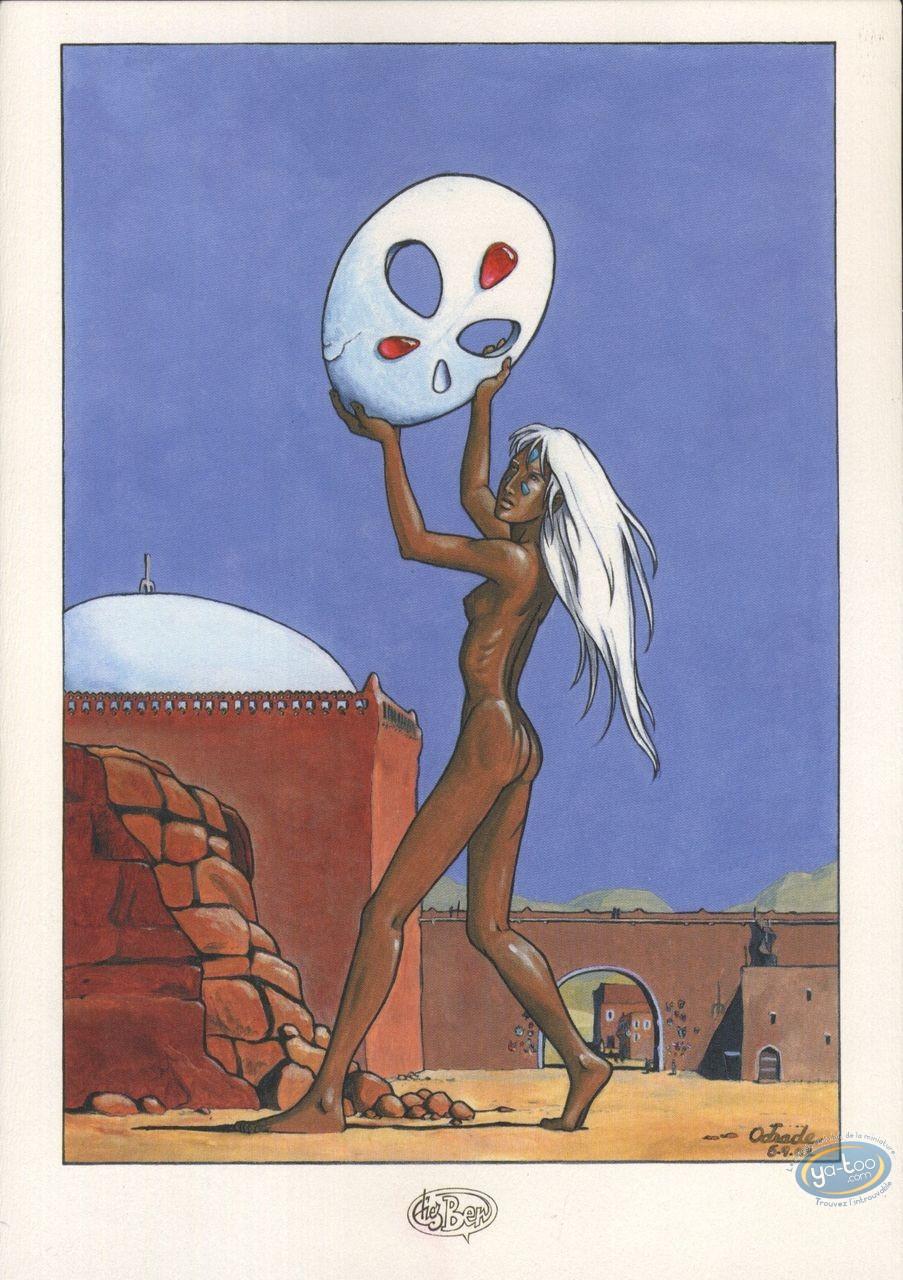 Ex-libris Offset, Ishum : Le masque