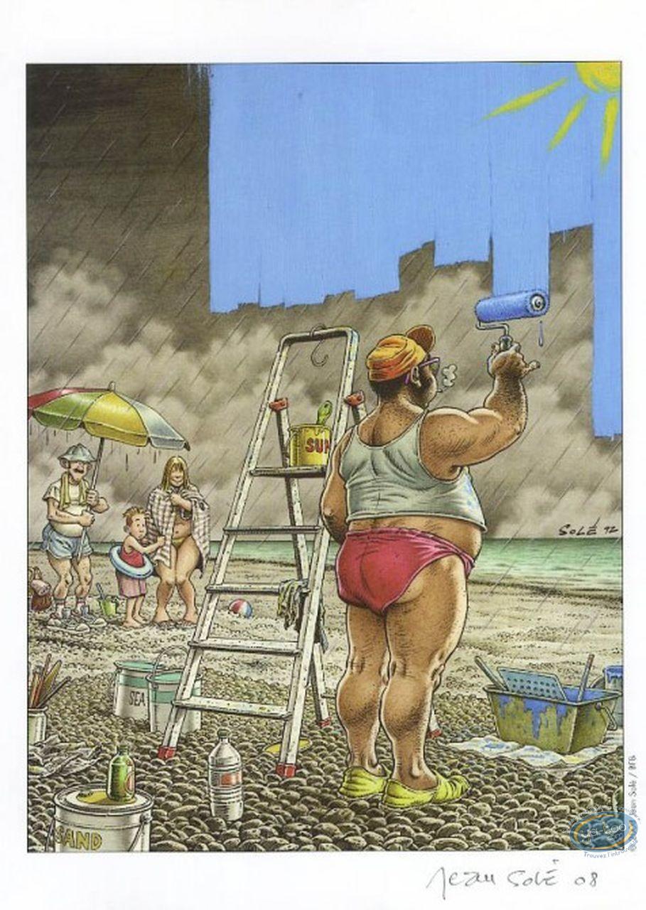 Ex-libris Offset, Le Peintre