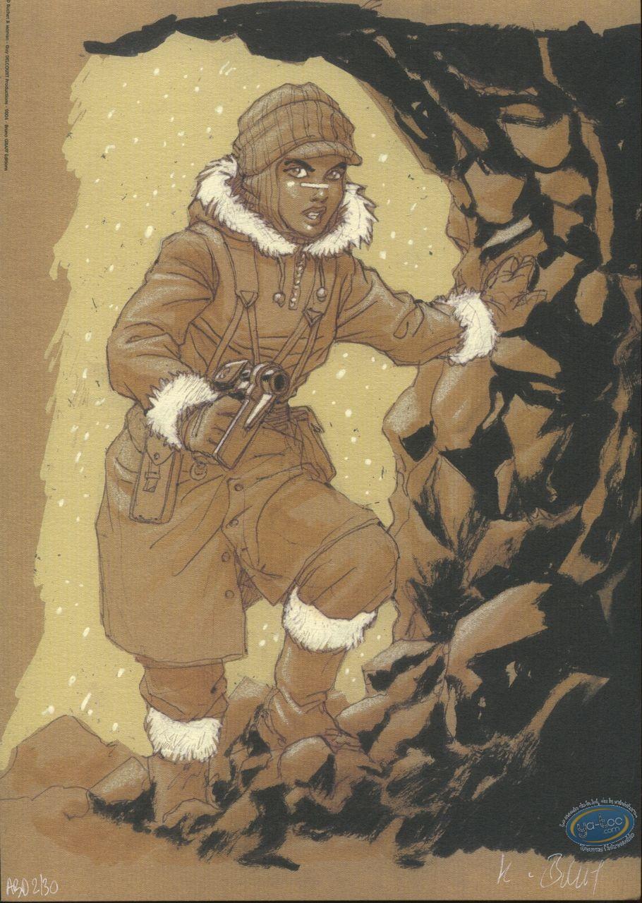 Ex-libris Offset, Sillage : Nävis dans la caverne (ABD)