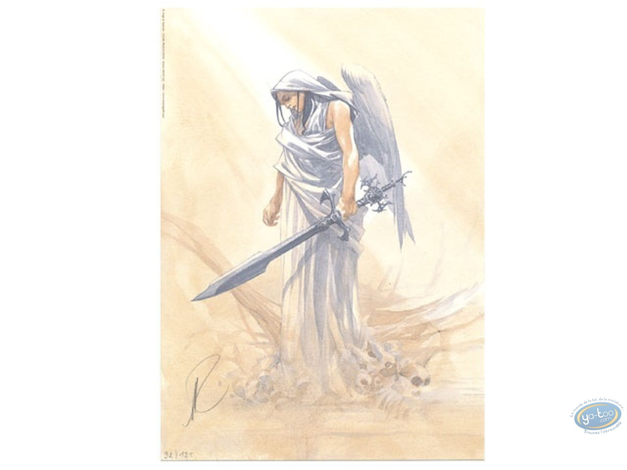 Ex-libris Offset, Paradis Perdu : Guerrière à l'épée