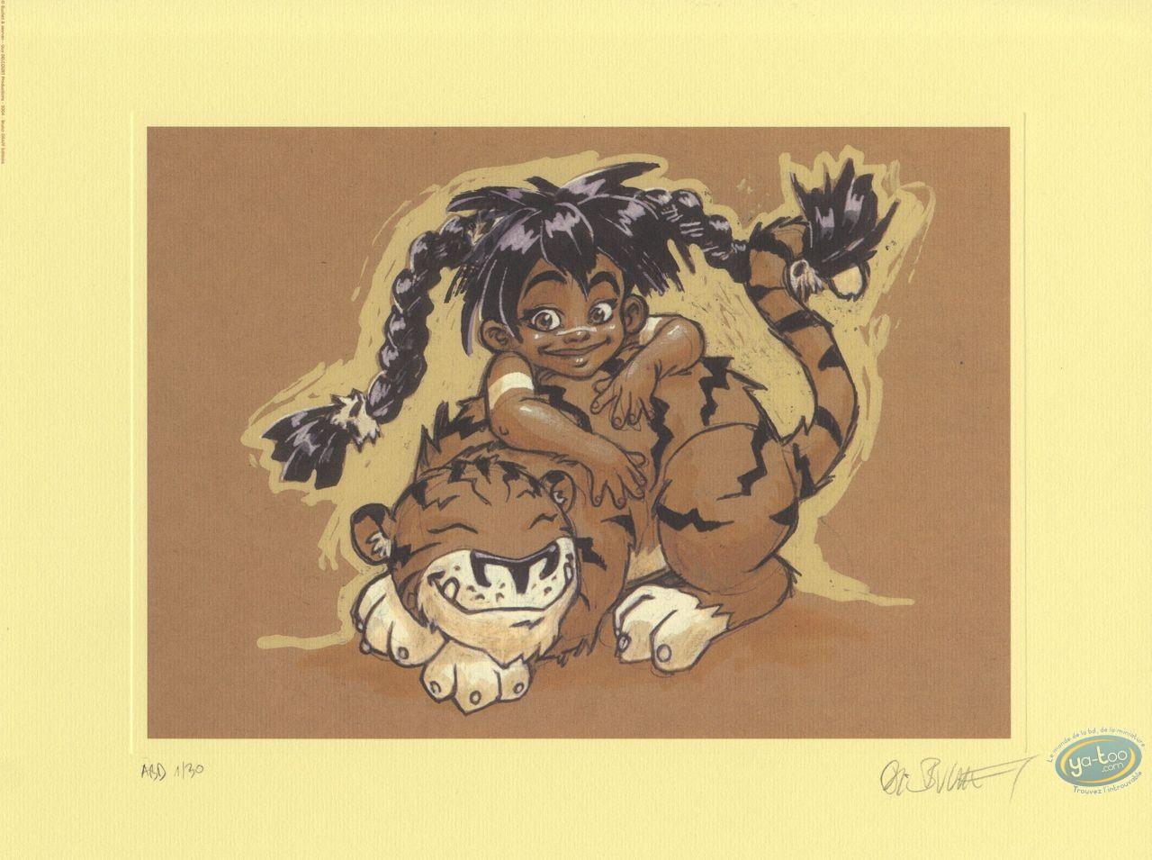Affiche Offset, Sillage : Buchet, Nävis enfant et Houyo