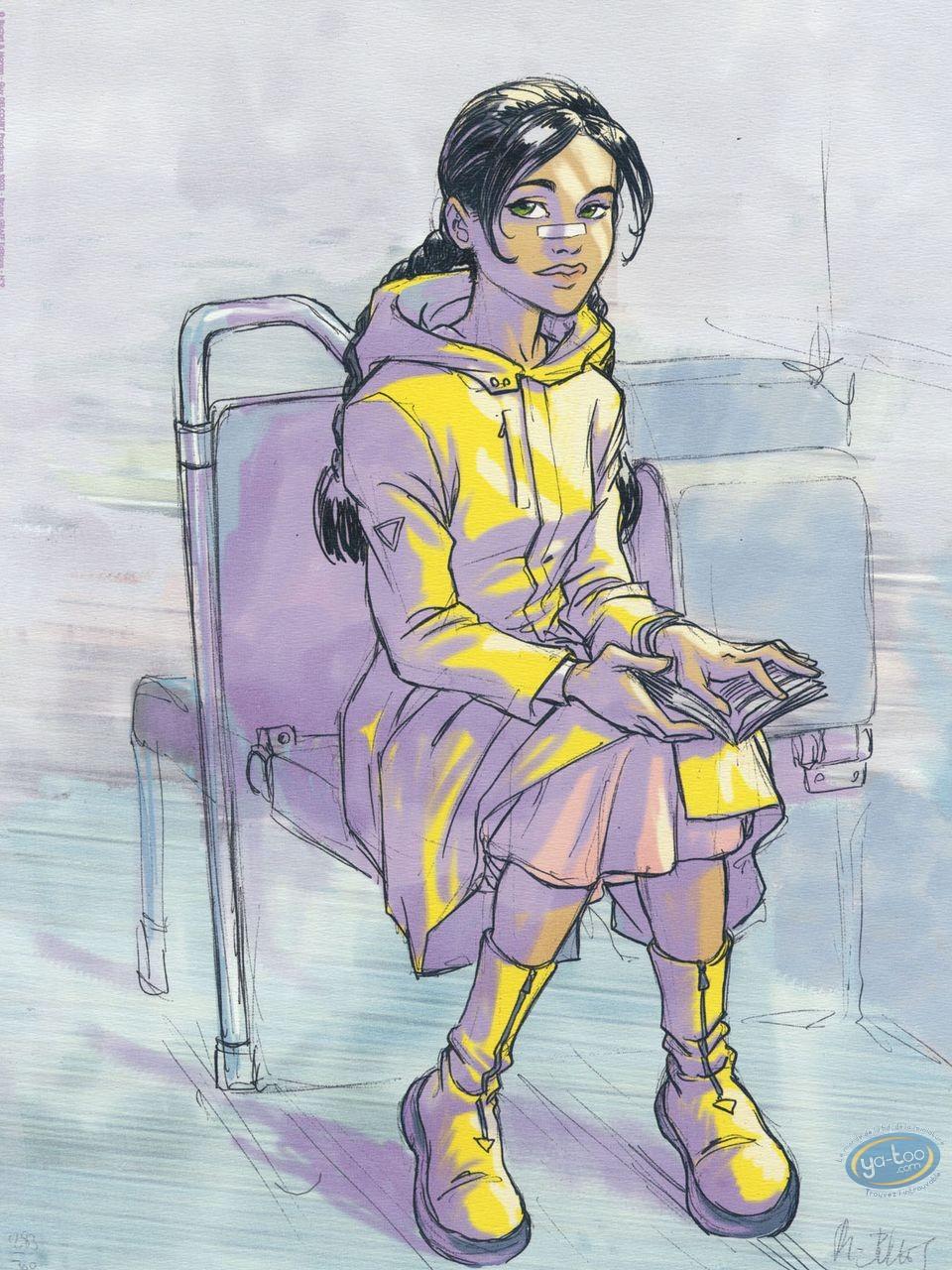 Affiche Offset, Sillage : Le métro