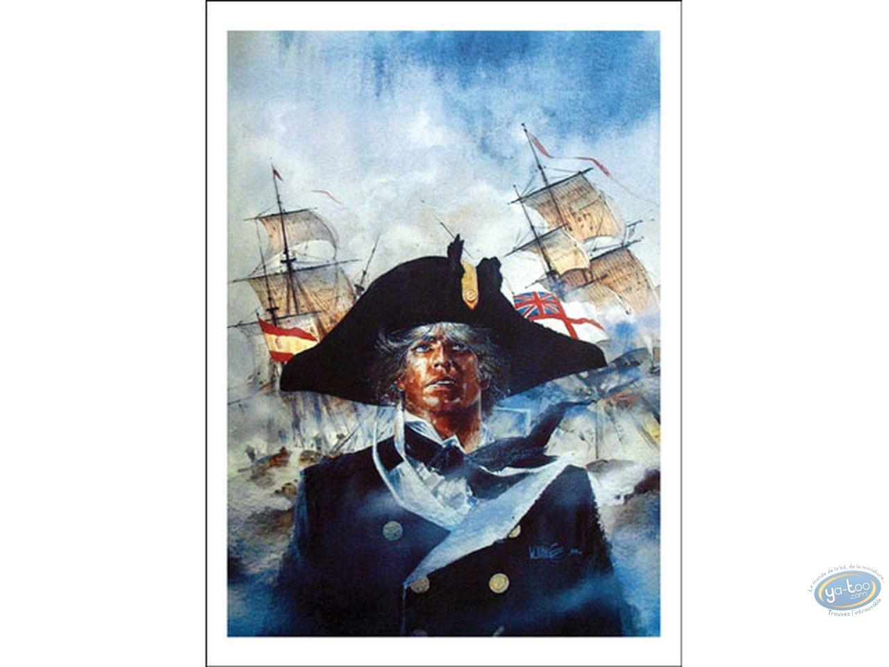 Affiche Offset, Bruce Hawker : Cap sur Gibraltar