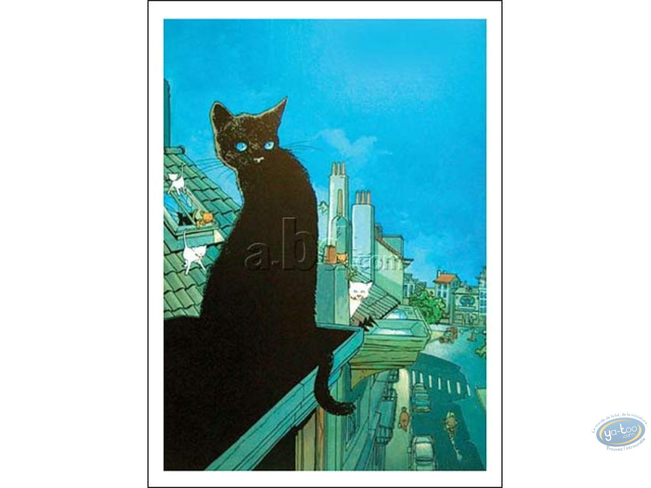 Affiche Offset, Chats