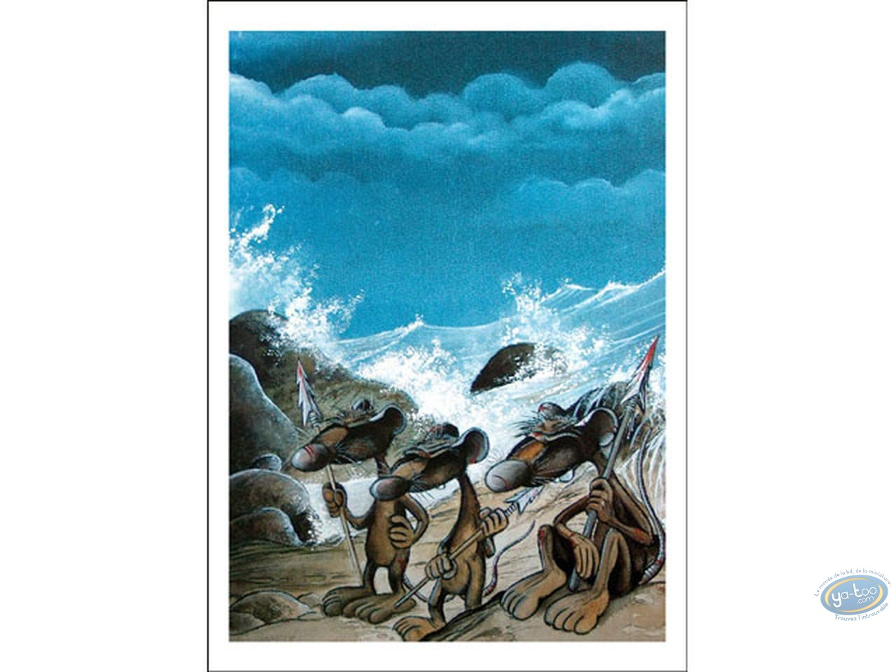 Affiche Offset, Pacush Blues - Les rats : Le Mal de Mer