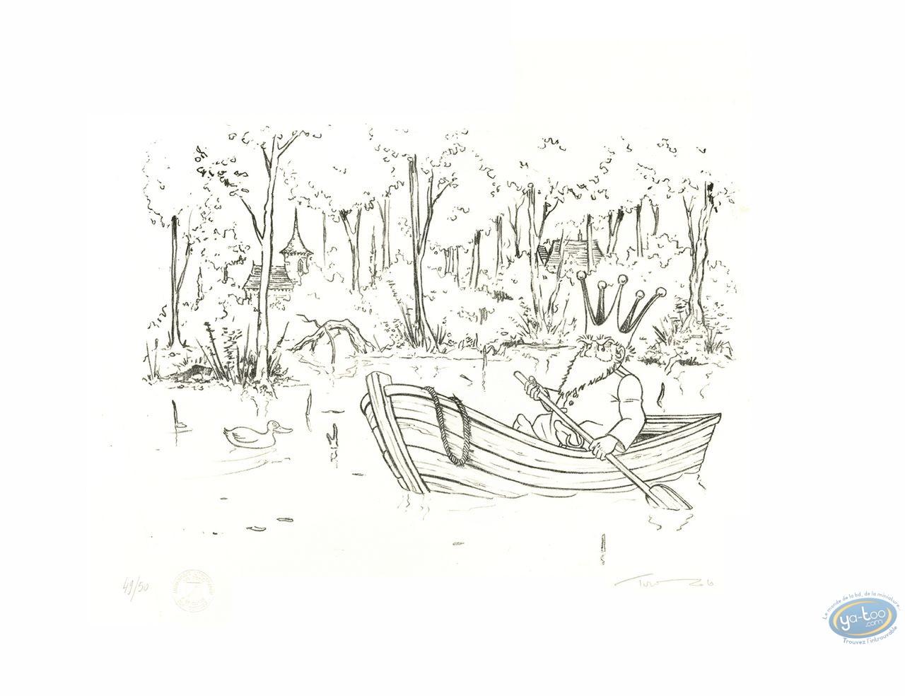 Lithographie, Nef des Fous (La) : Bateau