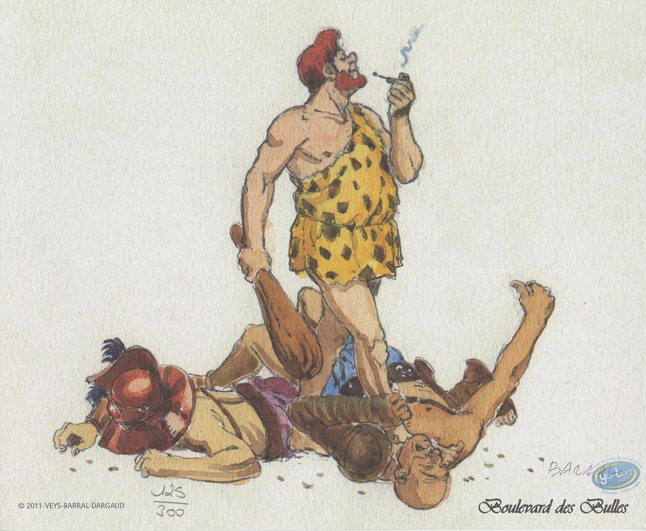 Ex-libris Offset, Blake et Mortimer : Hommage à Murena