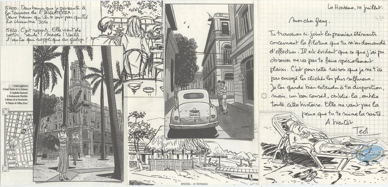 Ex-libris Offset, Caroline Baldwin : Enquête à La Havane