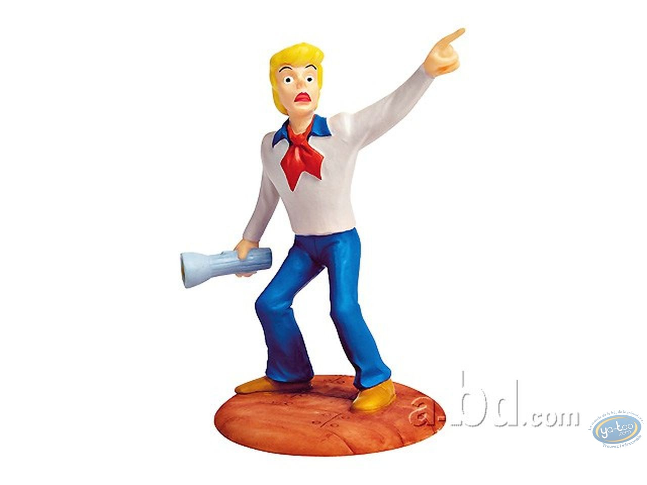 Statuette résine, Scooby-Doo : Fred + lampe
