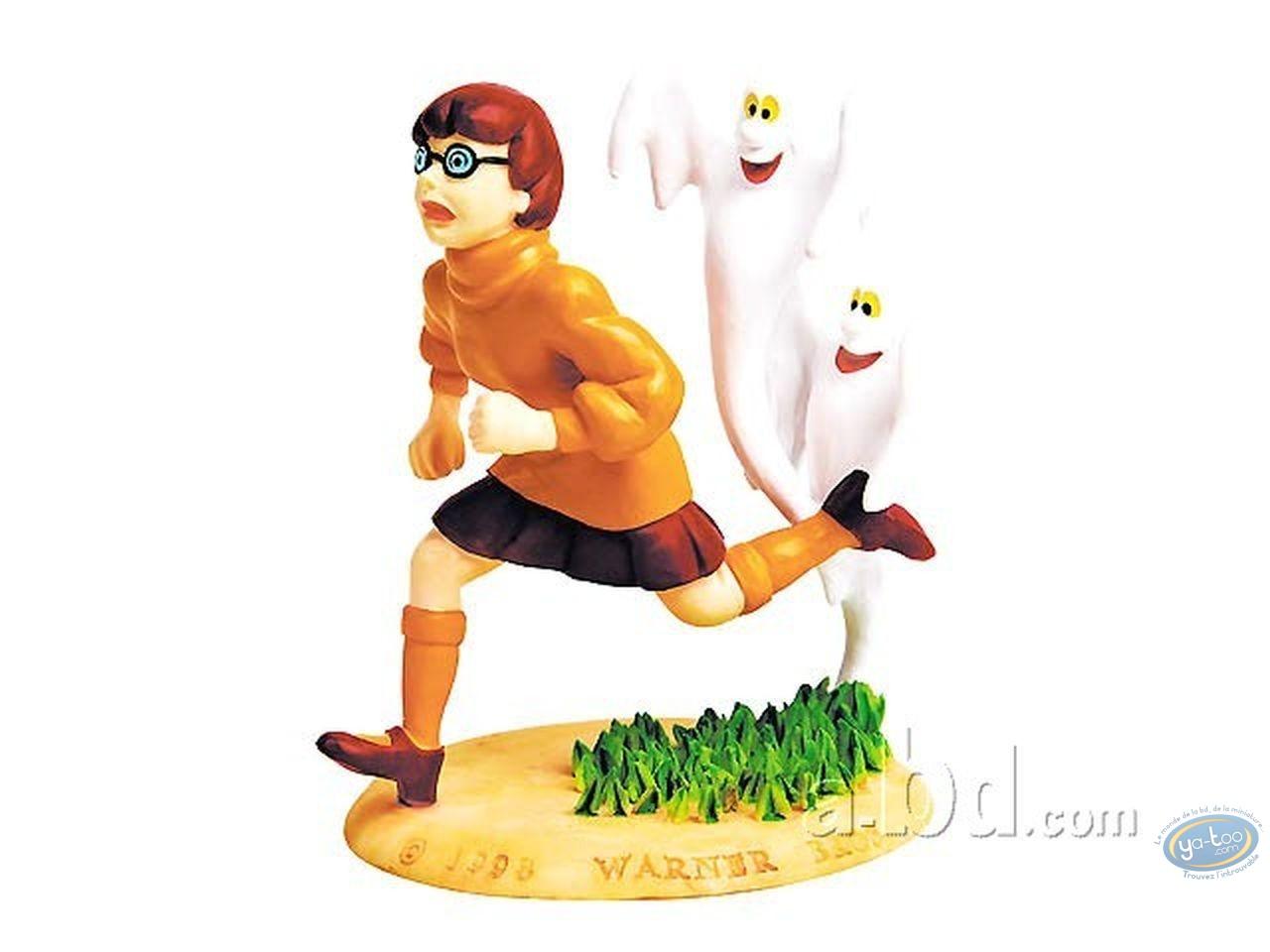 Statuette résine, Scooby-Doo : Velma + fantôme