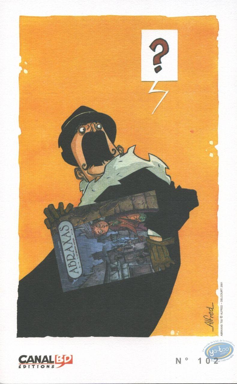 Ex-libris Offset, Abraxas : Alfred, Abraxas : ?