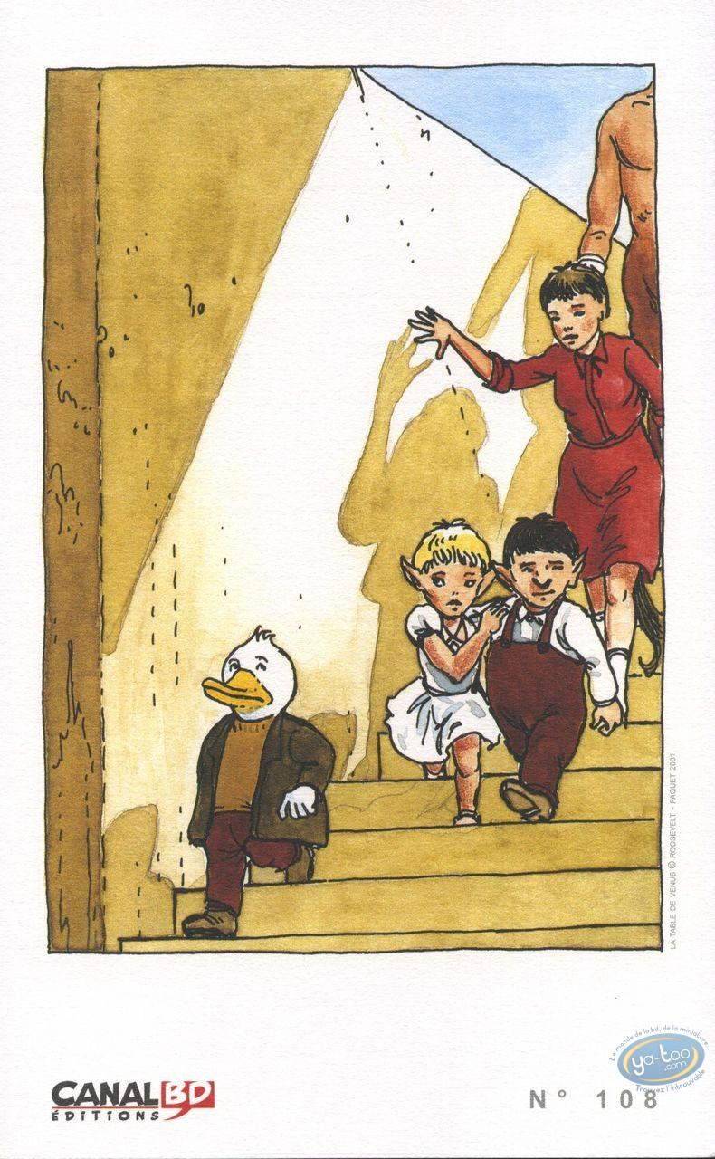 Ex-libris Offset, Table de Vénus (La) : Escalier