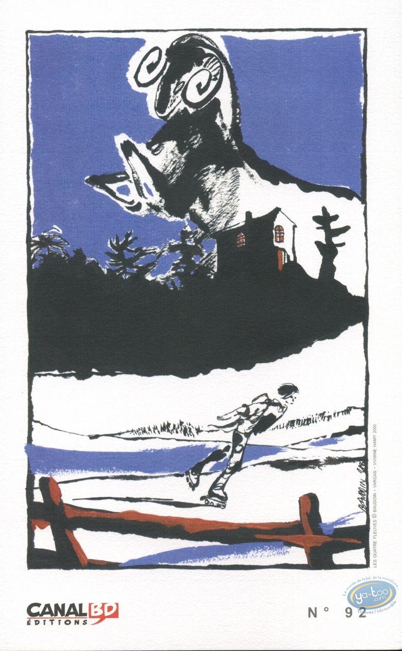Ex-libris Offset, Quatre Fleuves (Les) : Roller