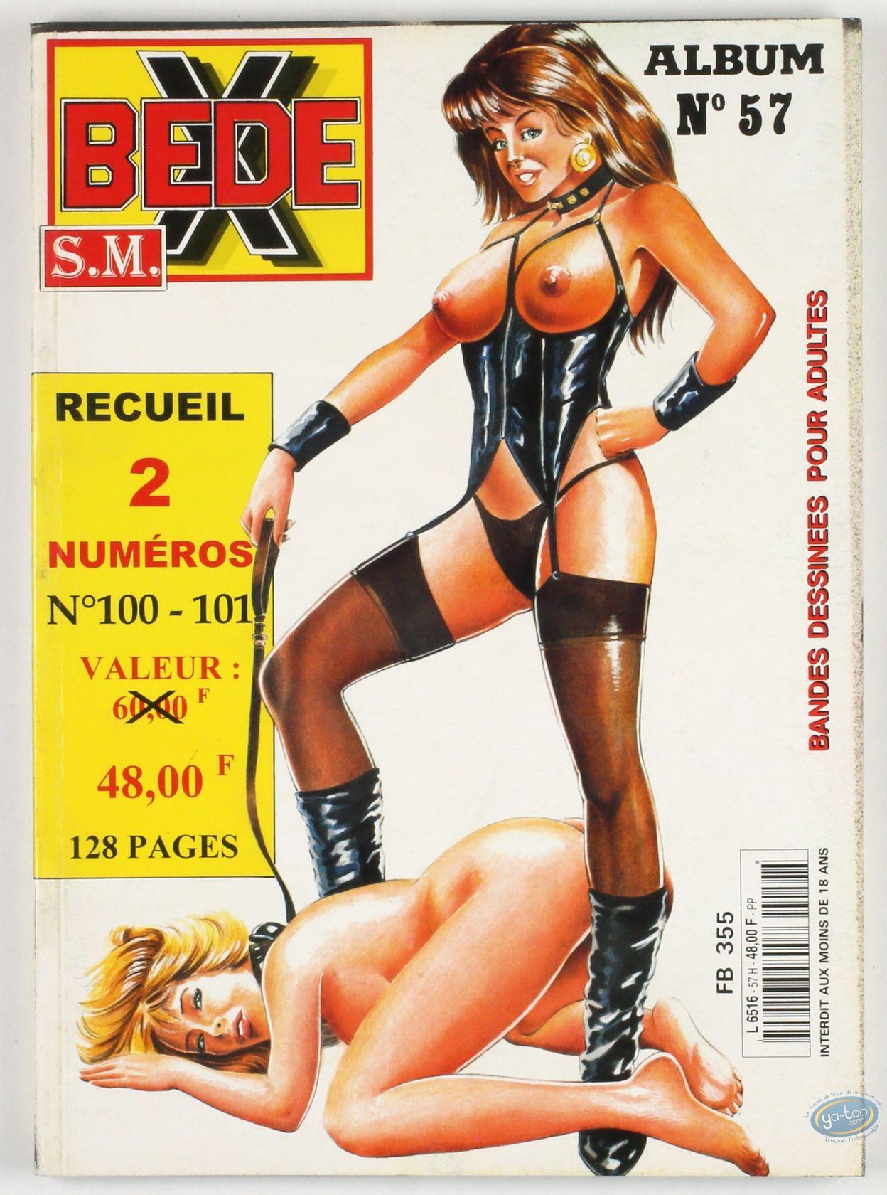 BD adultes, Bédé X N°57, Recueil des numéros 100 et 101