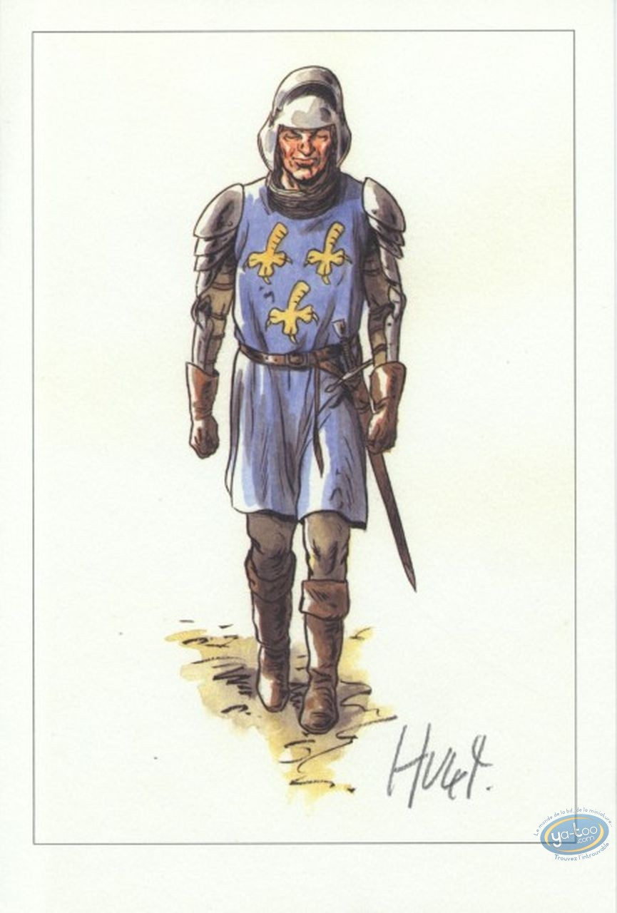 Ex-libris Offset, Extra-Muros : Homme d'armes