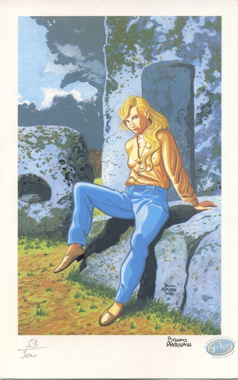Ex-libris Offset, Barbara Wolf : Barbara Wolf