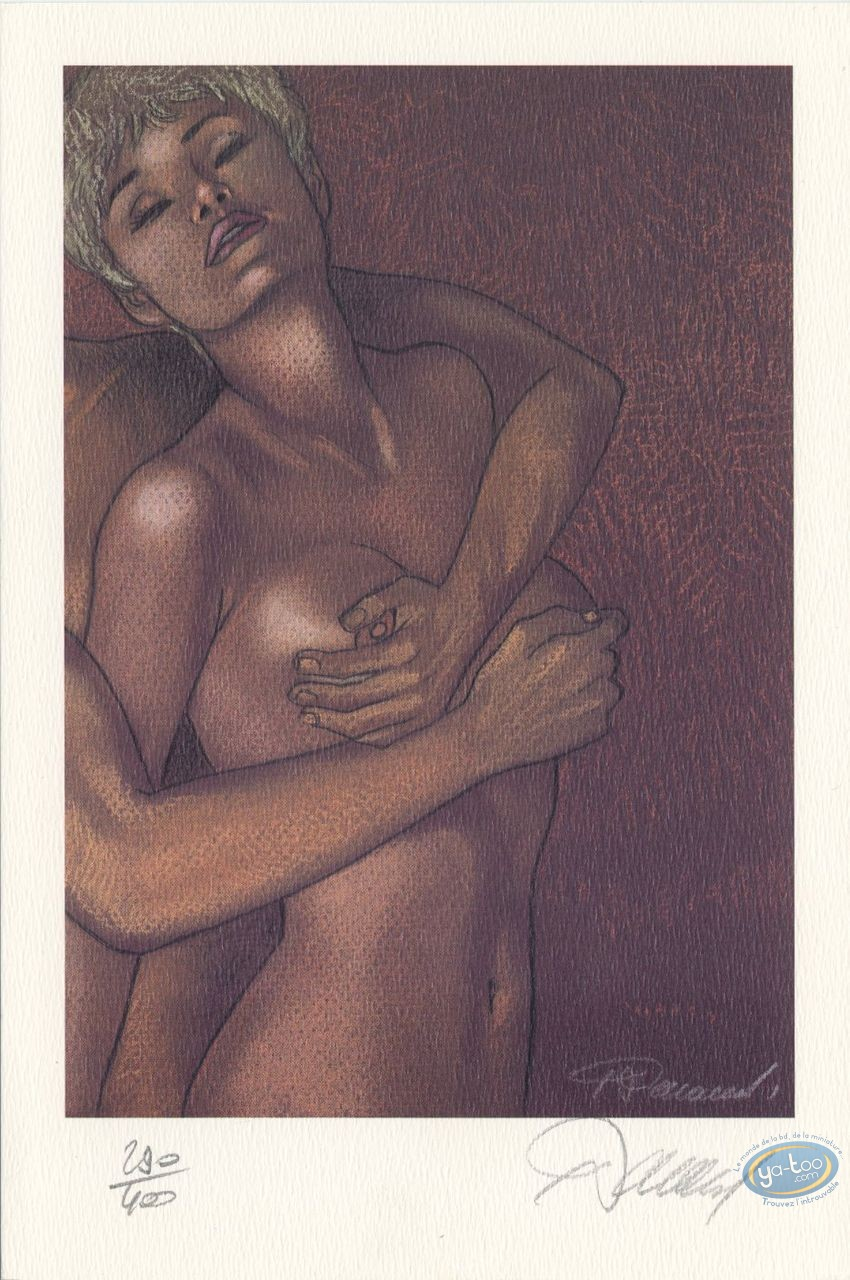 Ex-libris Offset, Jessica Blandy : Ebats dos contre face