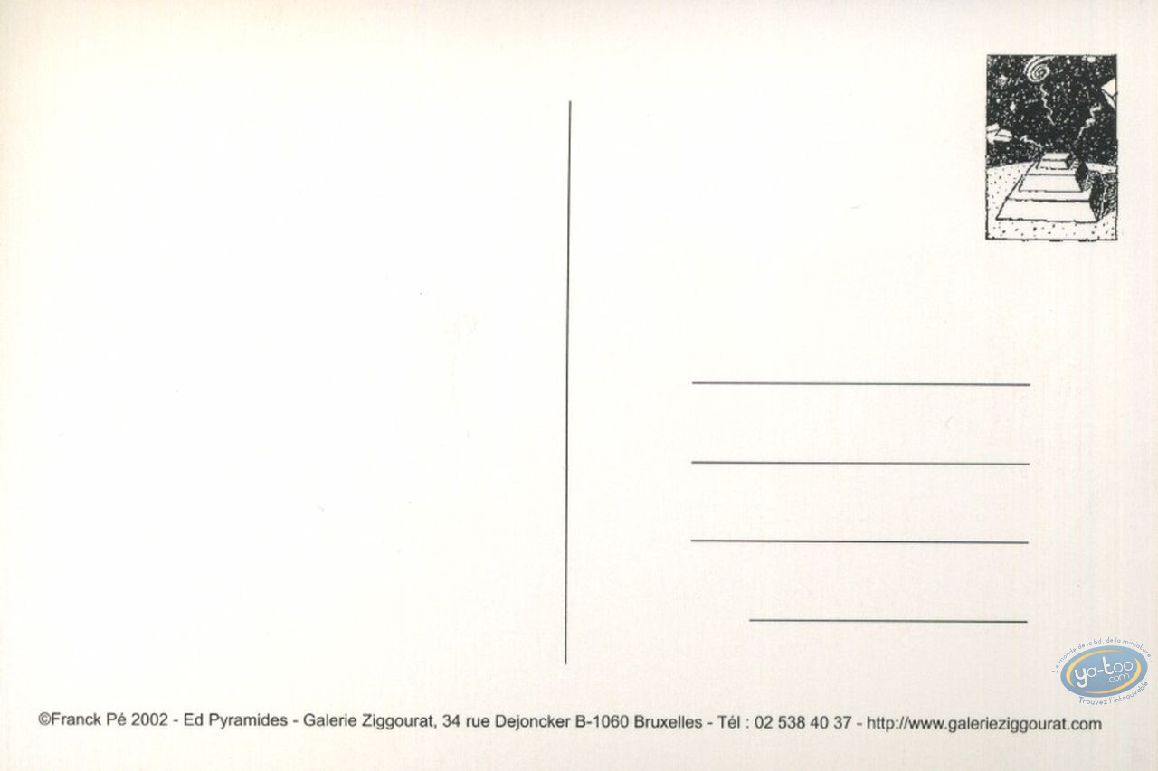Carte postale, Pyramides : La source