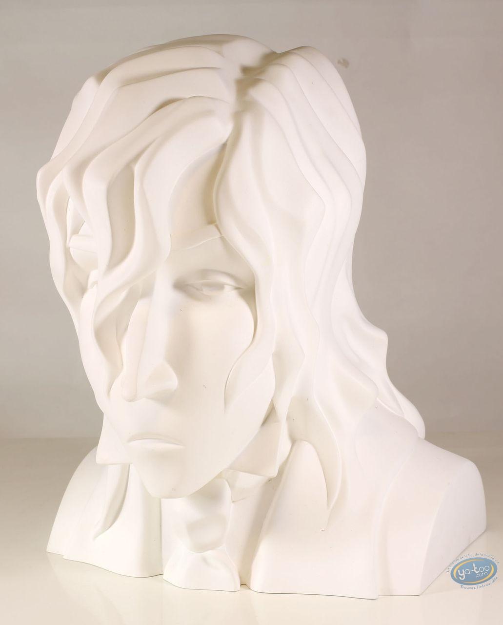 Statuette résine, Sambre : Buste de Bernard Sambre