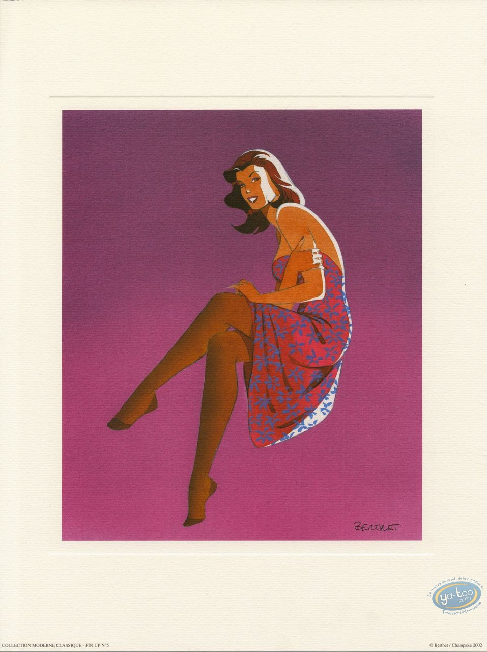 Affiche Offset, Pin-Up : Pin-up 5