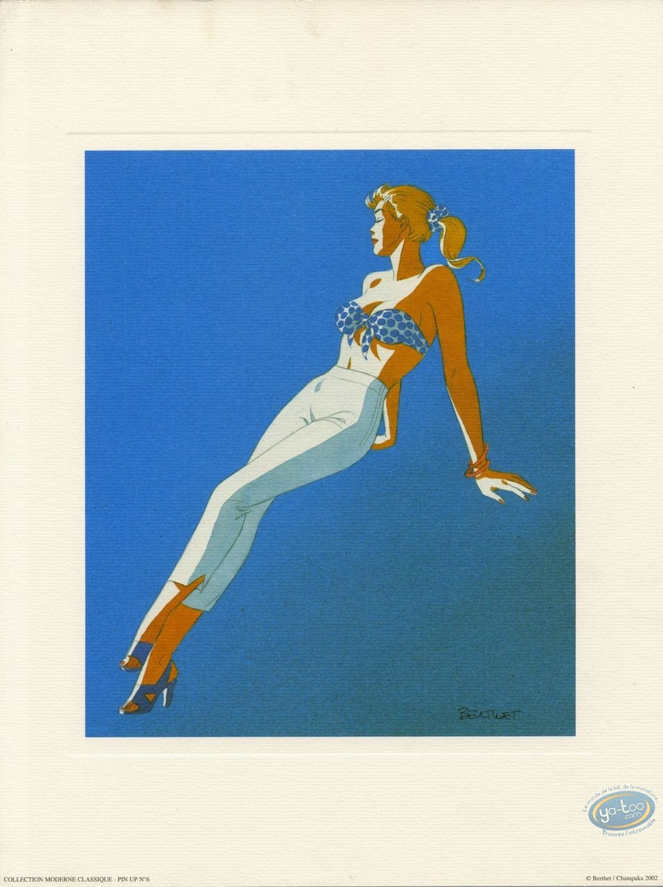 Affiche Offset, Pin-Up : Pin-up 6