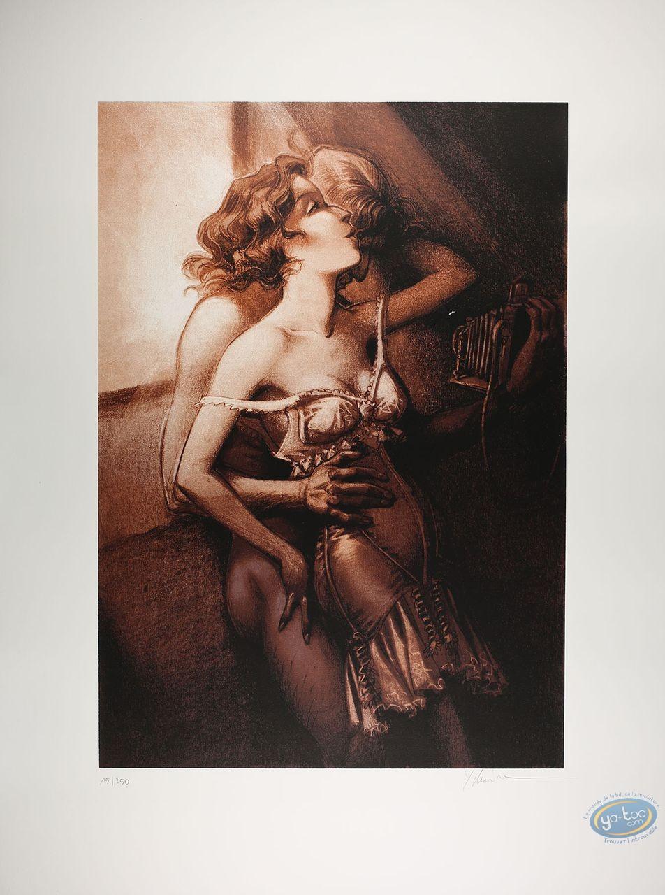 Affiche Sérigraphie, Xxème Ciel (Le) : La Séance de Photo opus 1