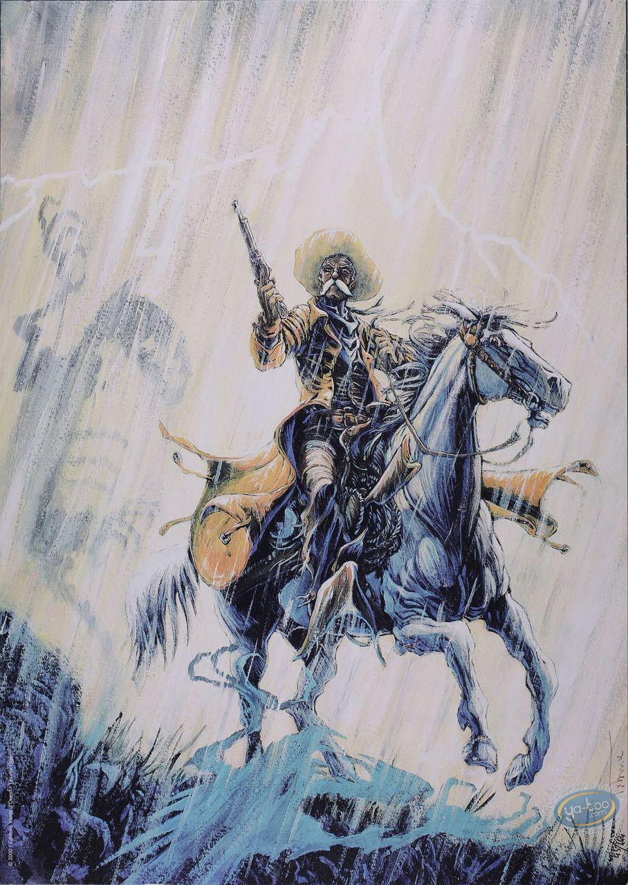 Affiche Offset, Piste des Ombres (La) : A cheval sous l'orage