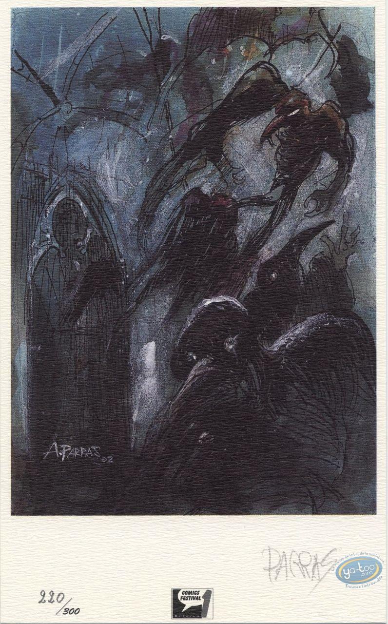Ex-libris Offset, Lièvre de Mars (Le) : Oiseaux