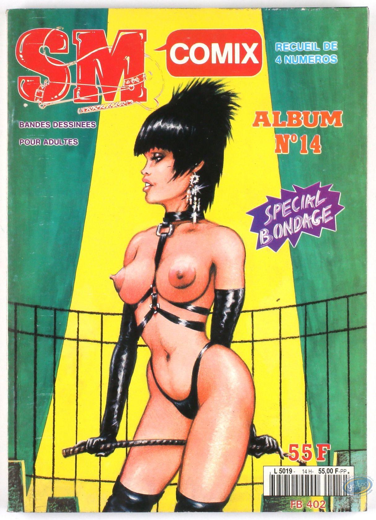 BD adultes, SM Comix N°14, Recueil de 4 numéros Special Bondage