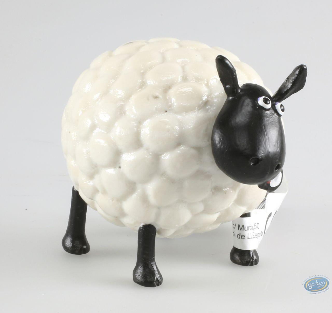 Figurine plastique, Wallace et Gromit : Shirley - Shaun le mouton