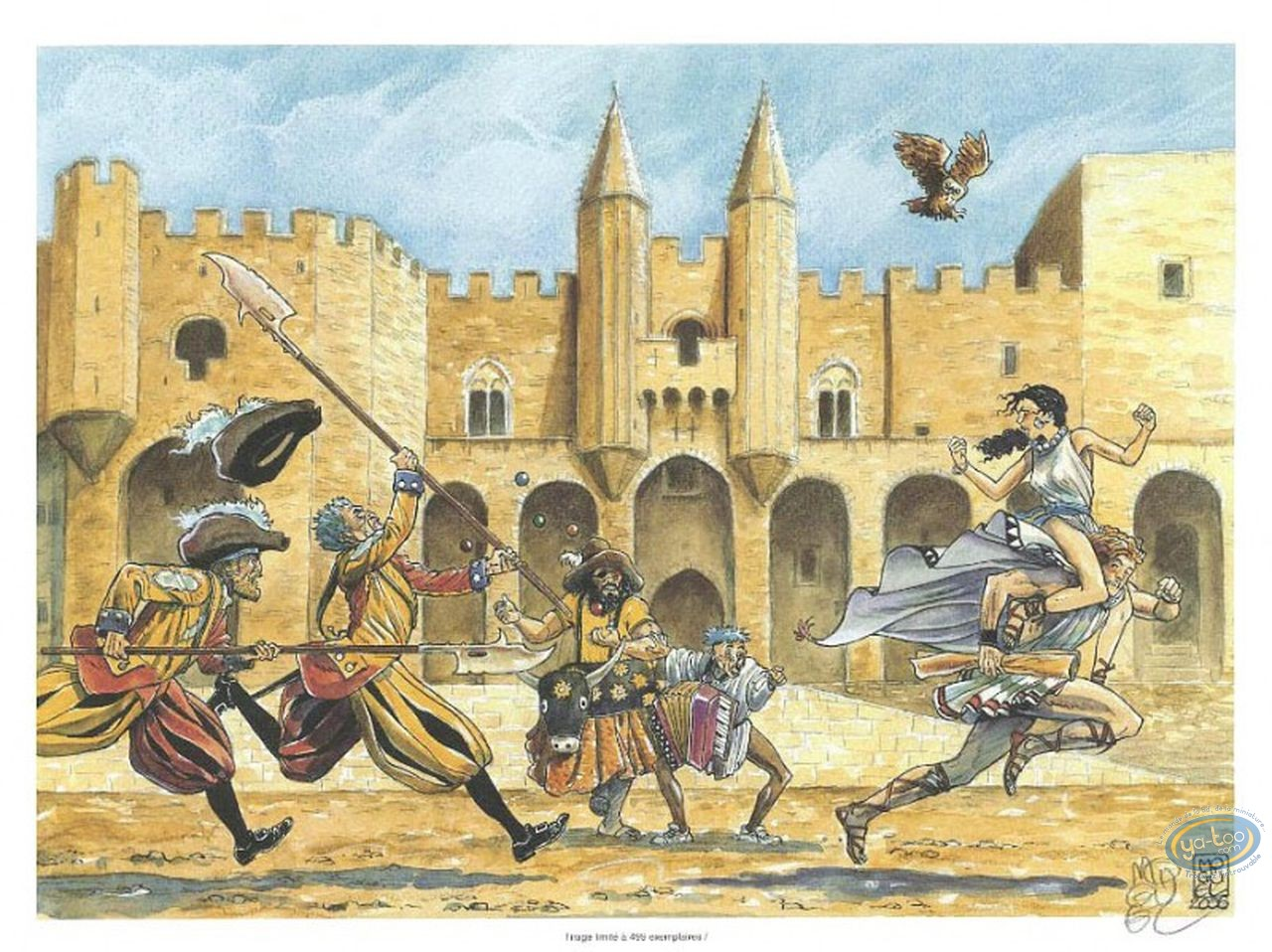 Ex-libris Offset, Myrkos : La fuite