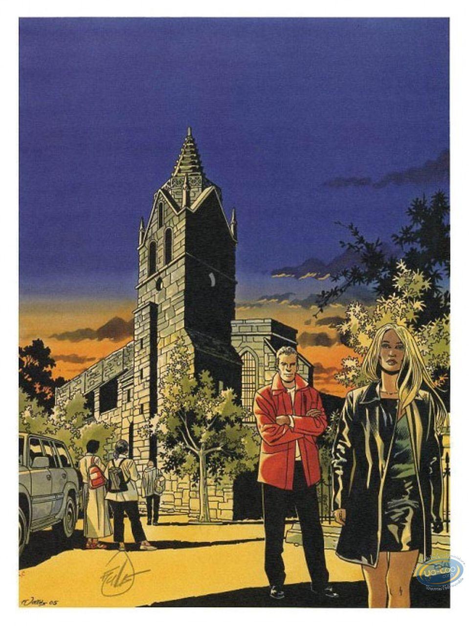 Ex-libris Offset, Rafales : L'église