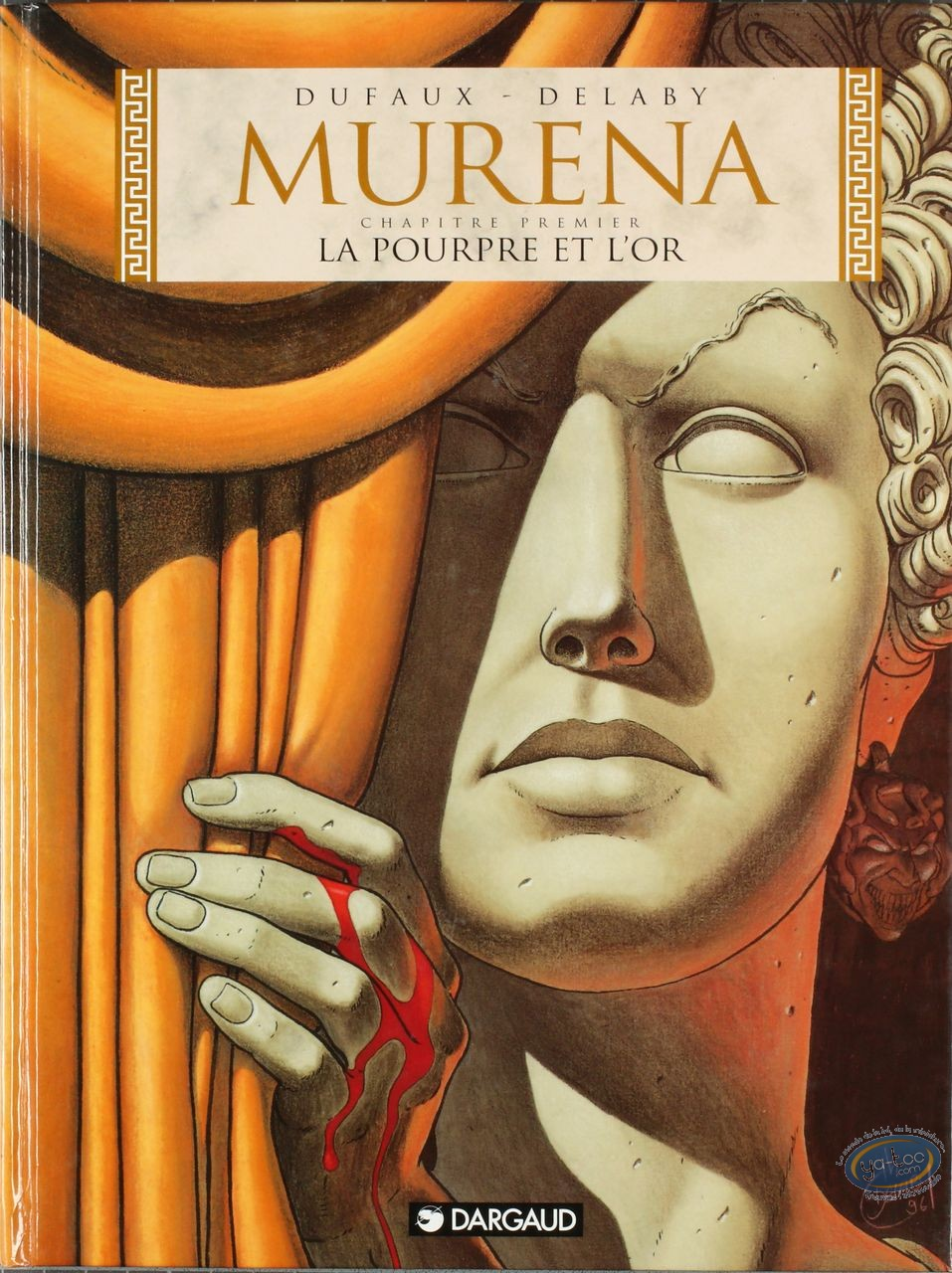 BD cotée, Murena : La Pourpre et l'Or