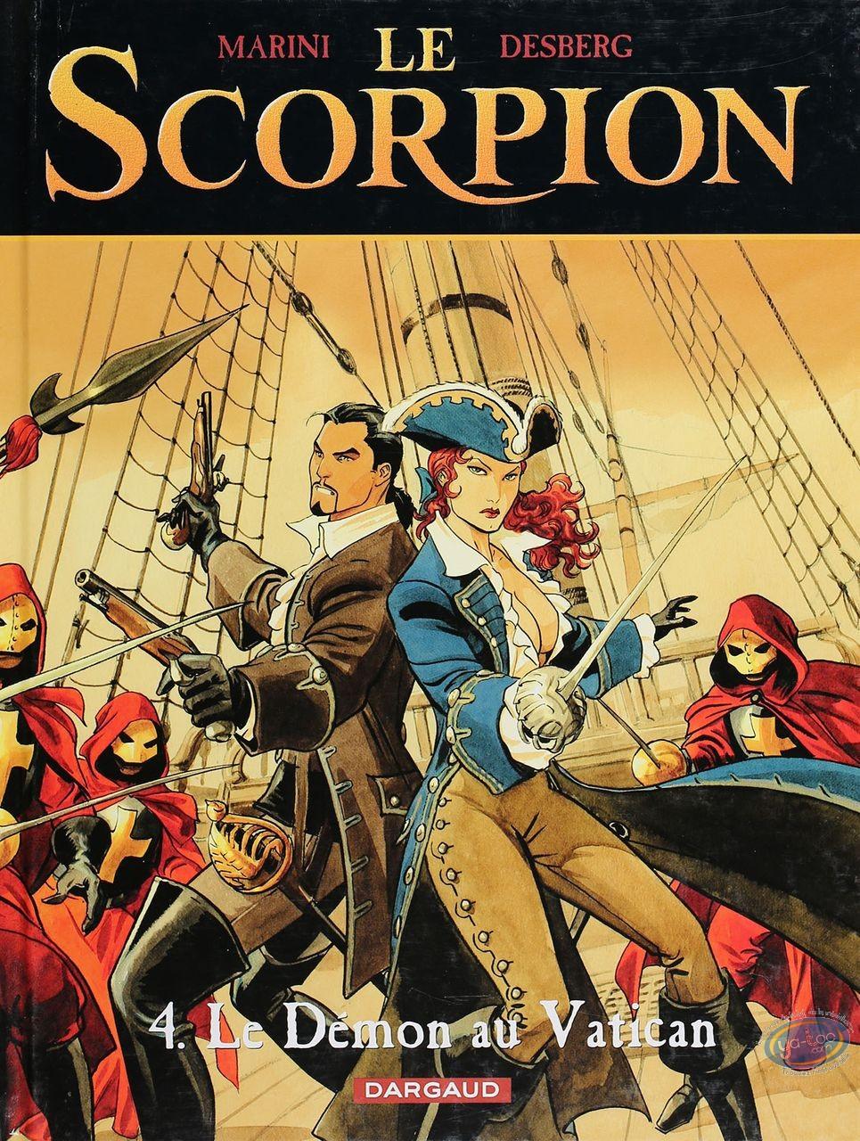 BD cotée, Scorpion (Le) : Le scorpion, Le Démon au Vatican